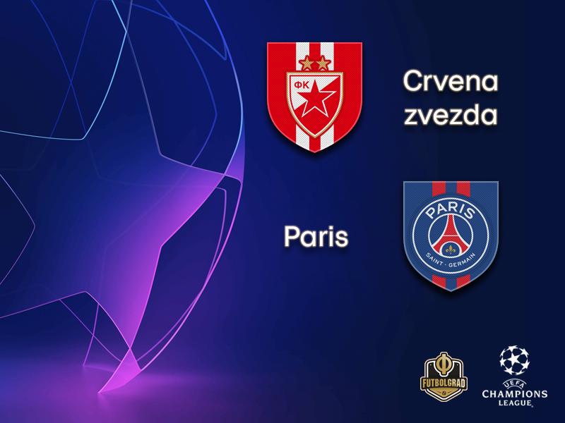 Crvena zvezda once again hope to upset the apple-cart when they host PSG at the Marakana