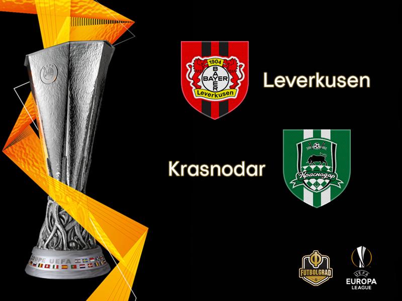 Statistics on Bayer's side as the Werkself hosts Krasnodar