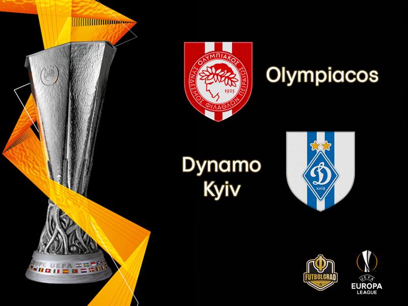 Olympiacos Host Ukrainian Giants Dynamo Kyiv