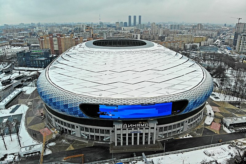 The VTB Arena in Moscow has finally opened its gates and is ready for the 2019/20 Russian Premier Liga season (Mos.Ru)