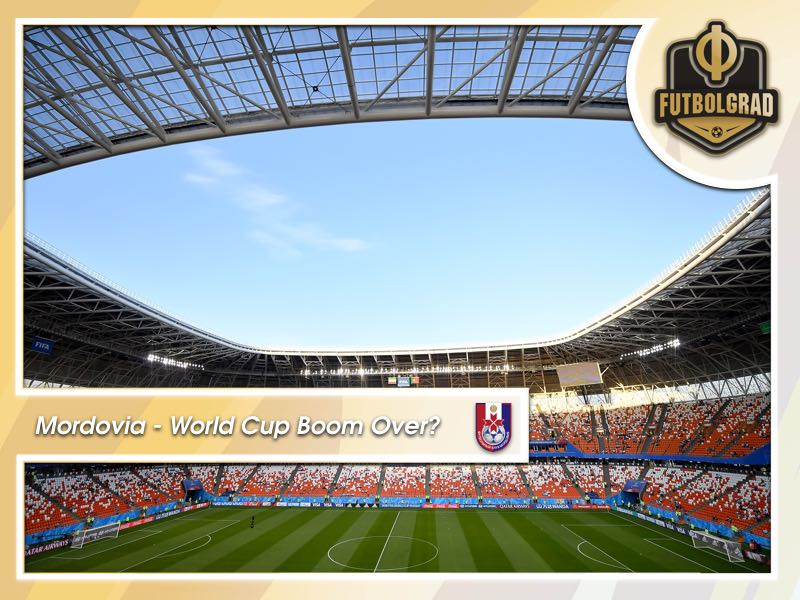 Mordovia Saransk and the end of the World Cup boom?