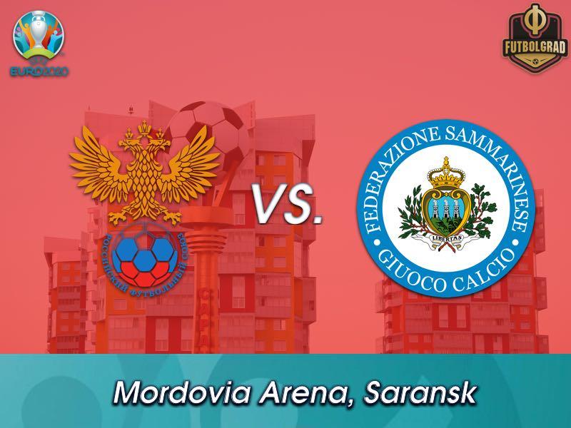 Russia host minnows San Marino in Saransk