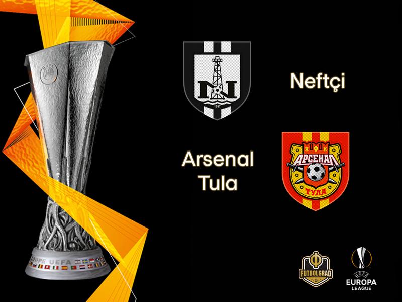Europa League: Neftchi Baku want to see off Arsenal Tula