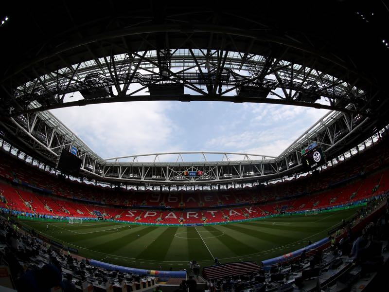 Spartak Moscow vs Braga will take place at the Otkritie Arena in Moscow (Photo by Catherine Ivill/Getty Images)