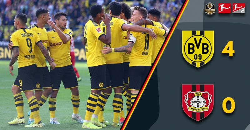 Borussia Dortmund vs Bayer Leverkusen – Bundesliga – Report