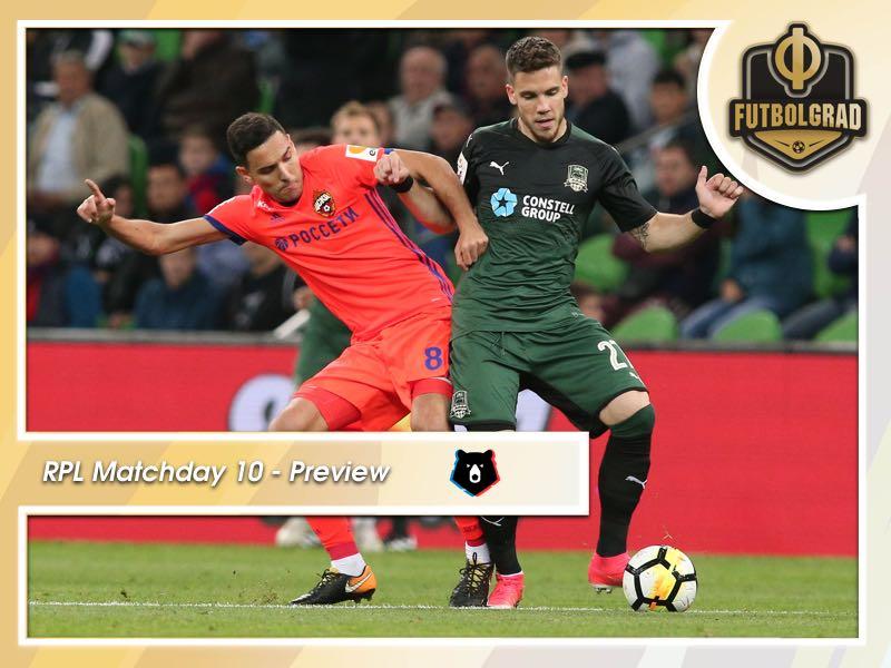 CSKA Moscow against Krasnodar highlights MD 10