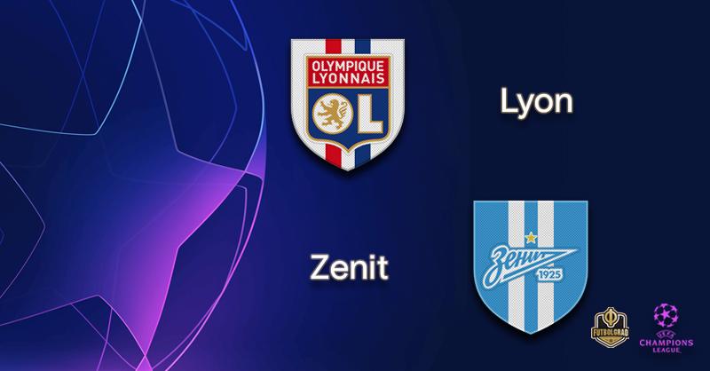 Olympique Lyon host Russian giants Zenit