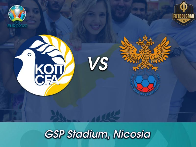Cyprus host unstoppable Russia in Nicosia