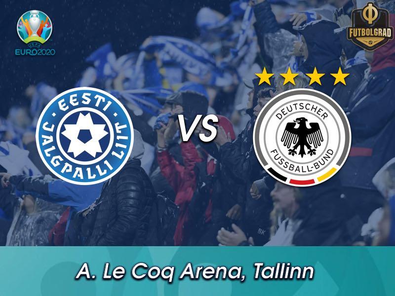 Courageous Estonia face giants Germany