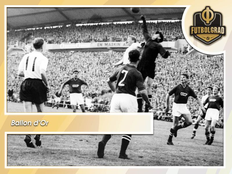 New Ballon d'Or Trophy named in honour of Lev Yashin