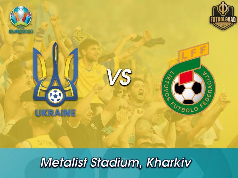 Ukraine host Lithuania on matchday 6