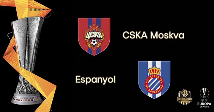 CSKA Moscow host Barcelona based Espanyol