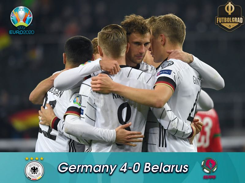 Germany dominate Belarus and qualify for Euro 2020
