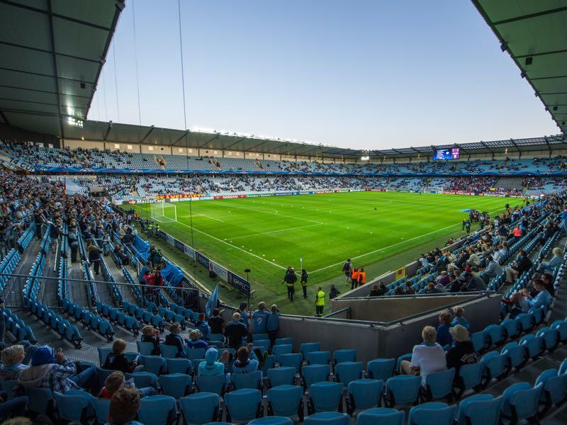 Malmö vs Dynamo Kyiv will take place at the Malmö New Stadium (Photo by Jonathan Nackstrand/EuroFootball/Getty Images)