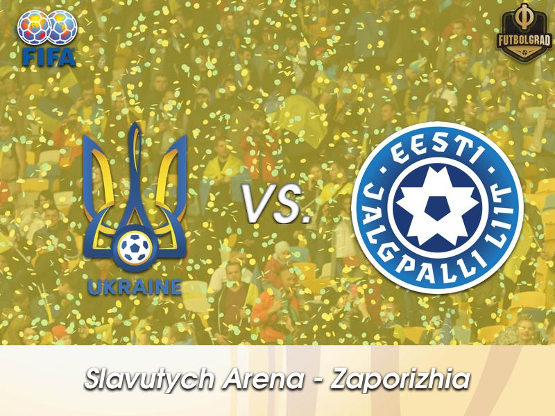Ukraine host Estonia for an international friendly in Zaporizhia