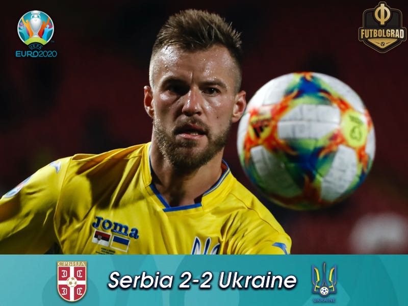Ukraine shock Serbia late, Zbirna remains undefeated in 2019