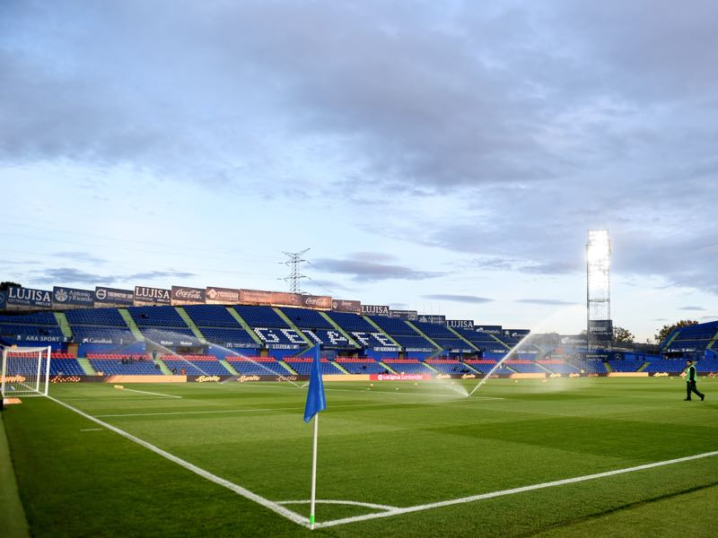 Getafe vs Krasnodar will take place at the Coliseum Alfonso Perez on December 1, 2018 in Getafe, Spain. (Photo by Denis Doyle/Getty Images)