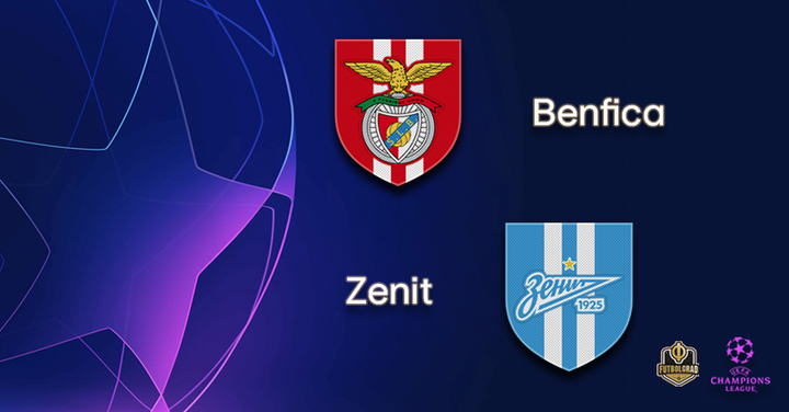 Zenit look to overcome Benfica to advance