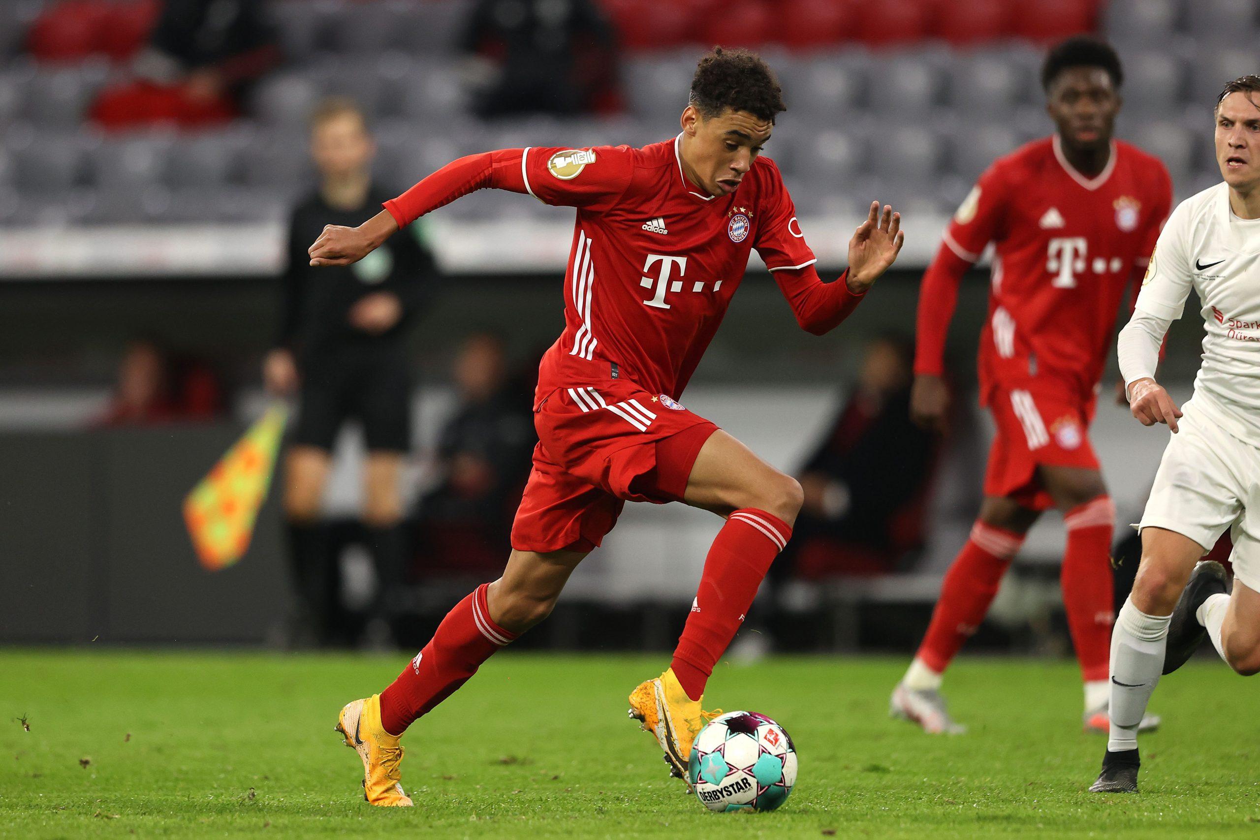 Jamal Musiala Lokomotiv Moscow vs Bayern