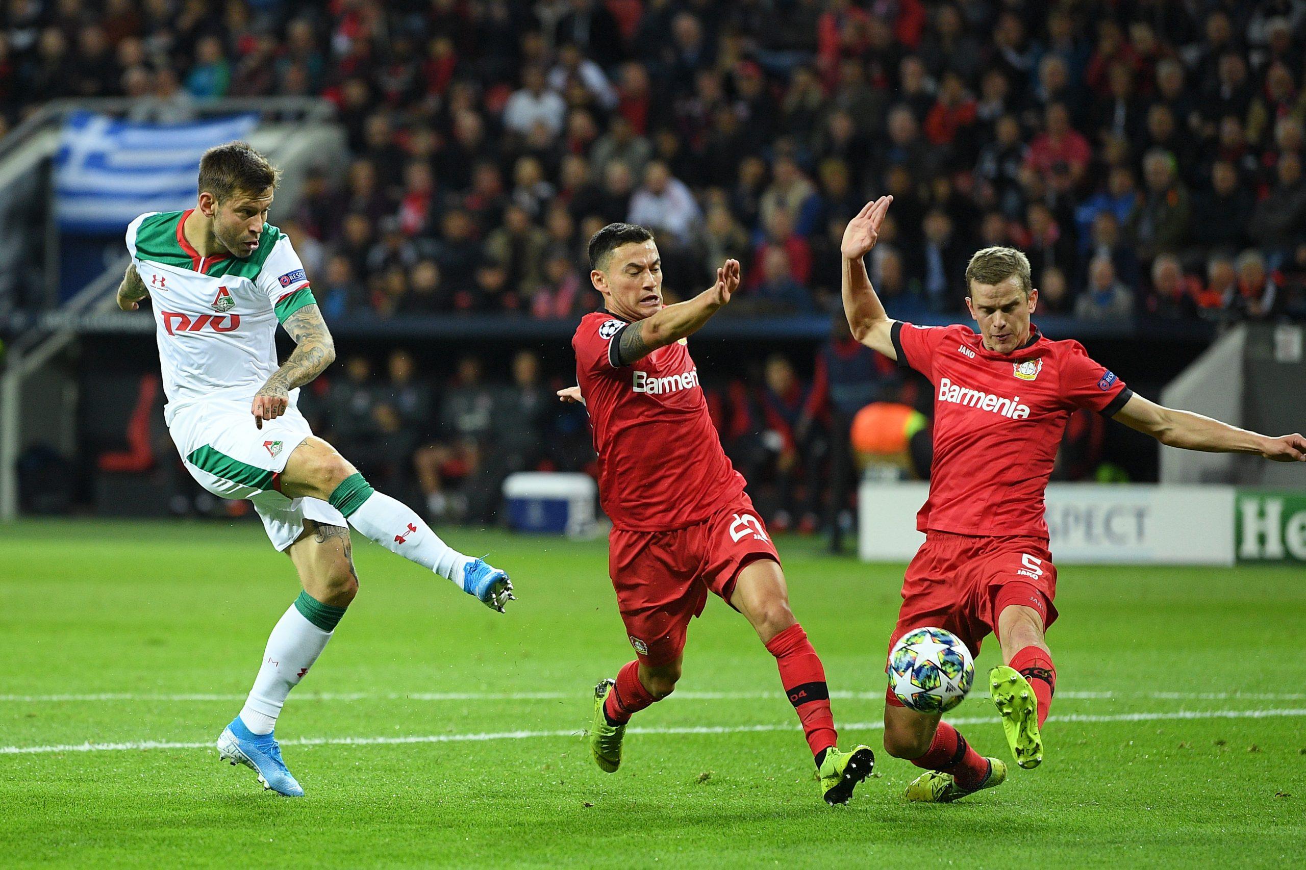 Fedor Smolov Lokomotiv Moscow vs Bayern