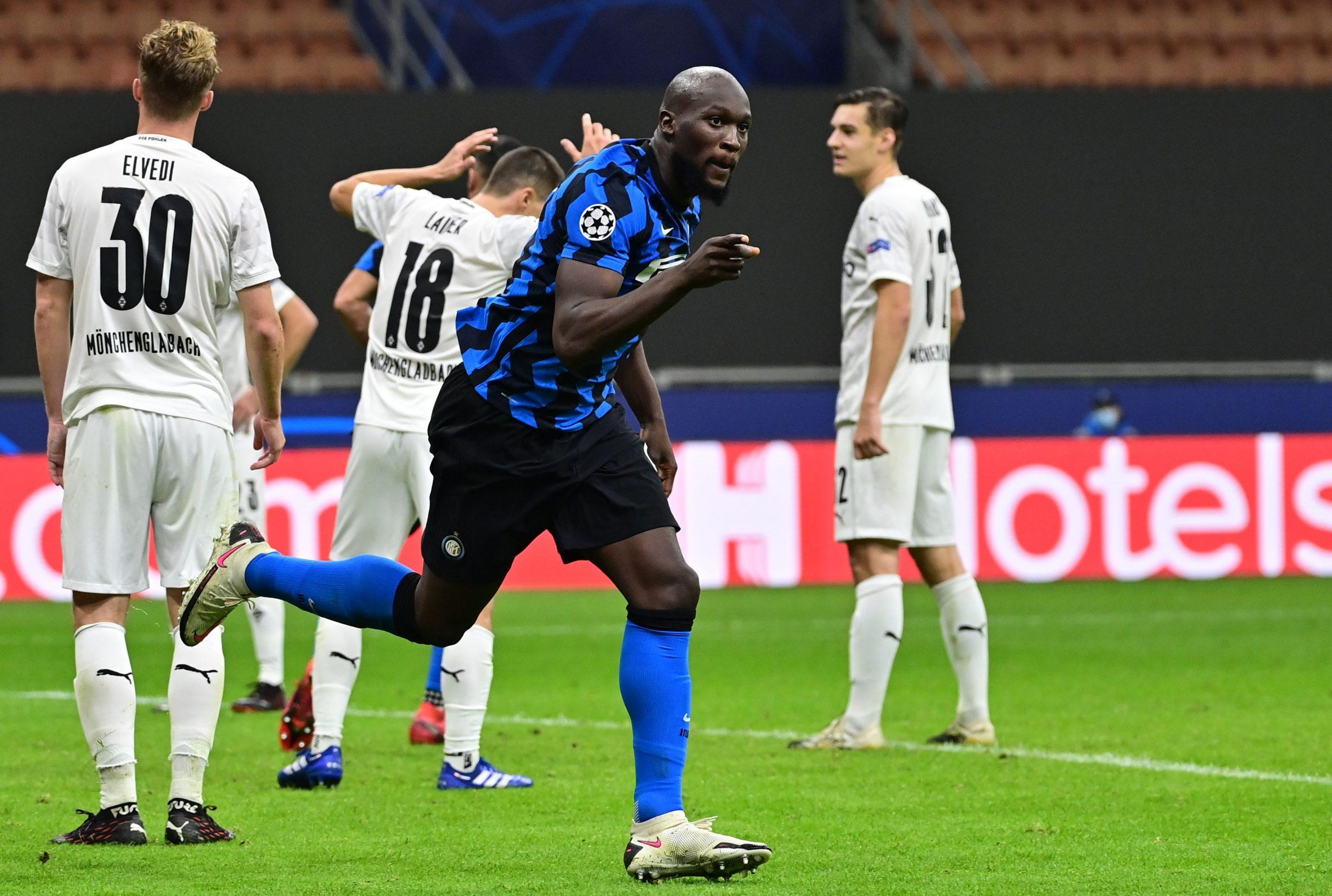 Romelu Lukaku Shakhtar Donetsk vs Inter
