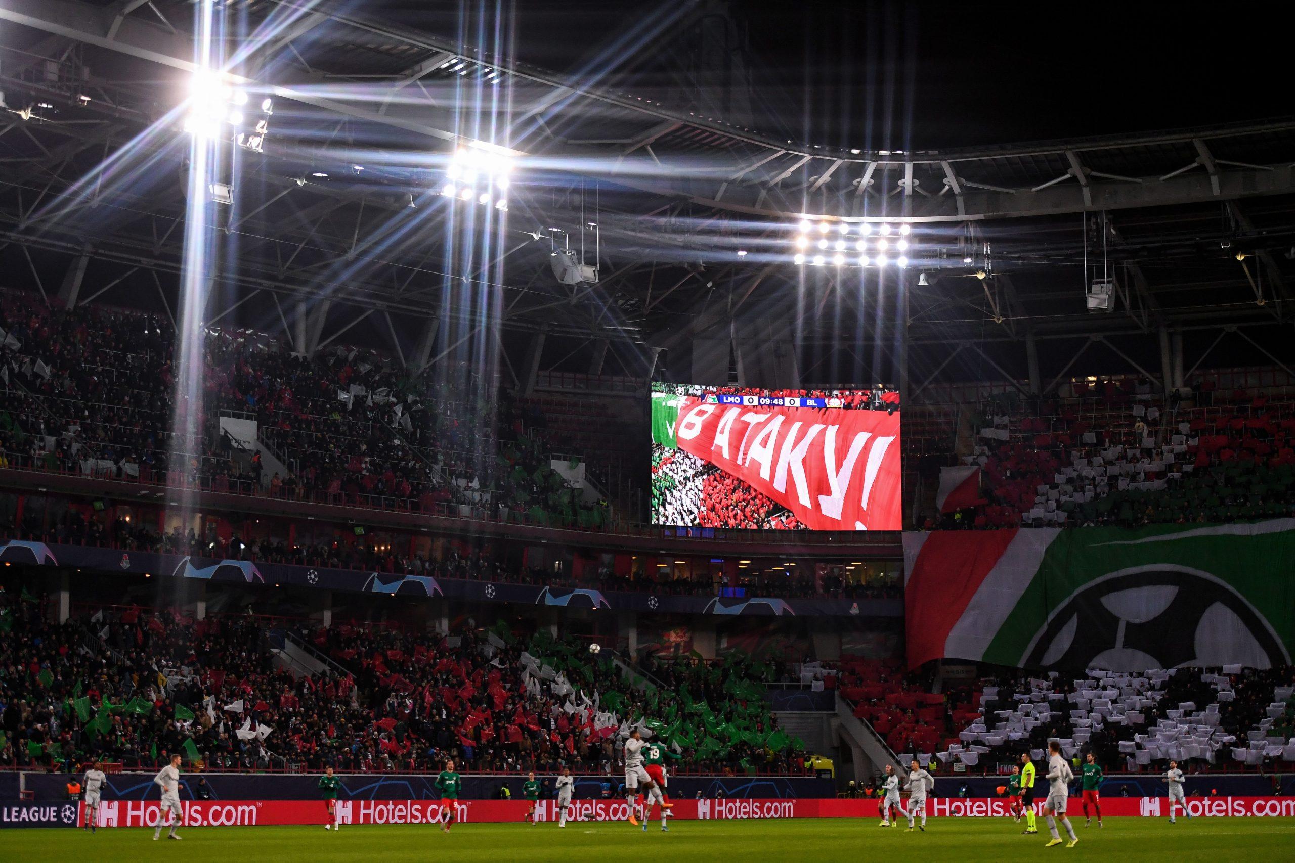 RZD Arena Lokomotiv Moscow vs Bayern