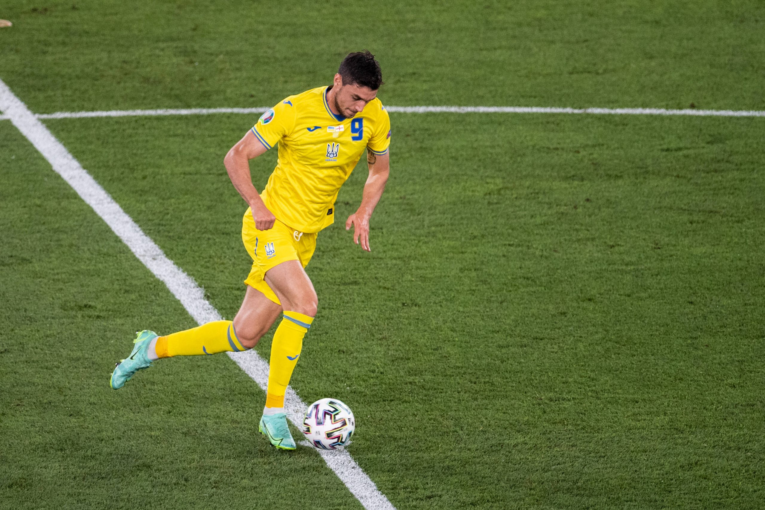Whose Stock Rose for Ukraine at EURO 2020?